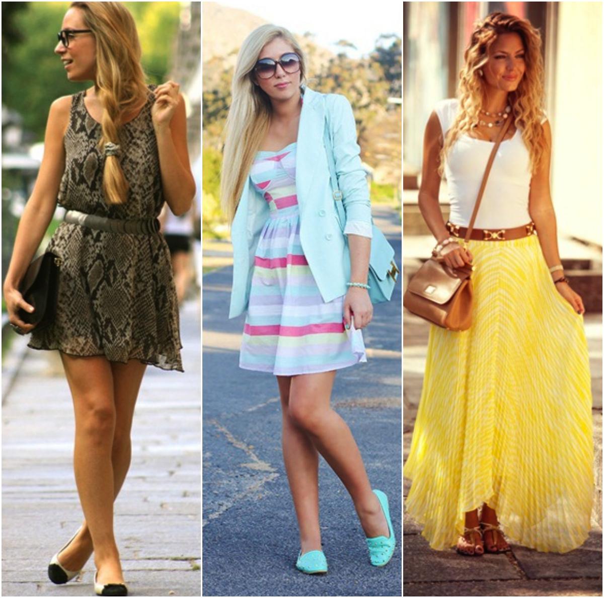 056a8d056be Os vestidos estampadinhos sao uma boa pedida, mas evite grandes decotes,  transparências e vestidos curtíssimos. As saias longas também sao incríveis!