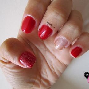 Esmalte da Semana: Holiday Red da Jordana + Glitter Prata daColorama