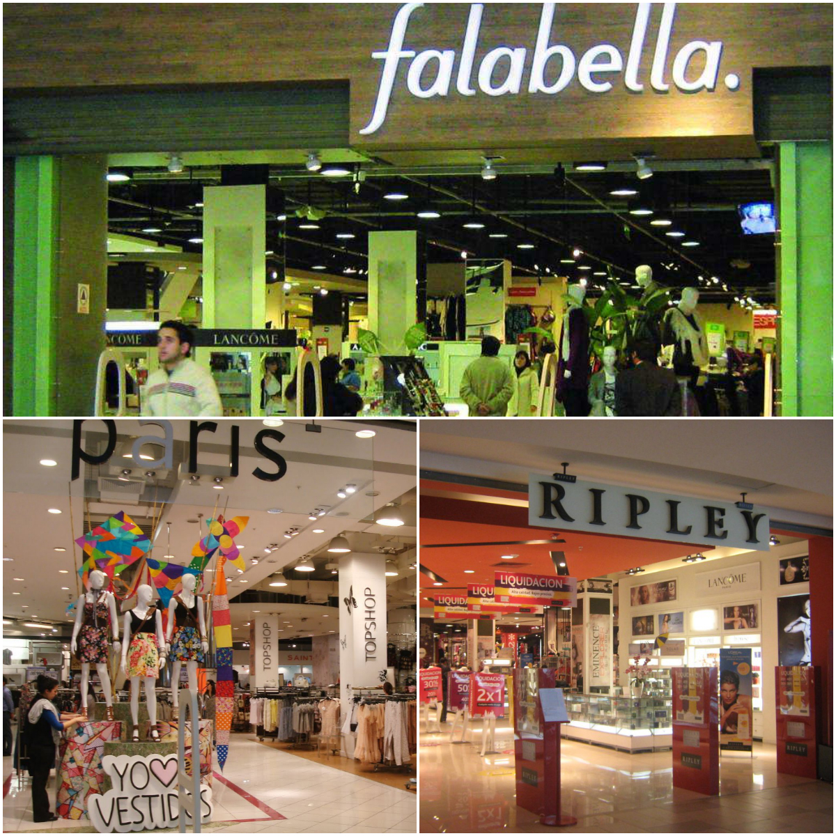 Onde fazer compras em Santiago Chile   COMPRAS   Blog La Vida e70a511f2f