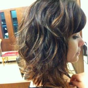 O cabelo de Aline (Vanessa Giácomo) em Amor àVida