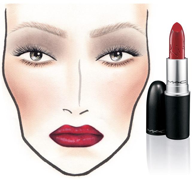 Rihanna-MAC-Lipstick--RiRi-Woo-Matte-cool-red
