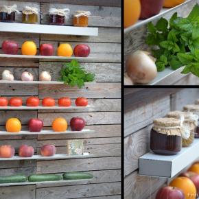 Fruteira de parede – decoraçao epraticidade