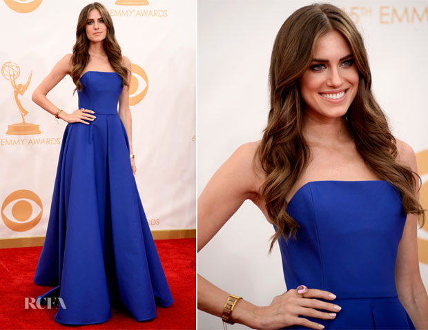 Allison-Williams-In-Ralph-Lauren-2013-Emmy-Awards