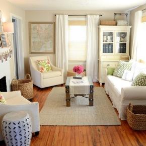 Casal transforma a decor da casa sem ajudaprofissional