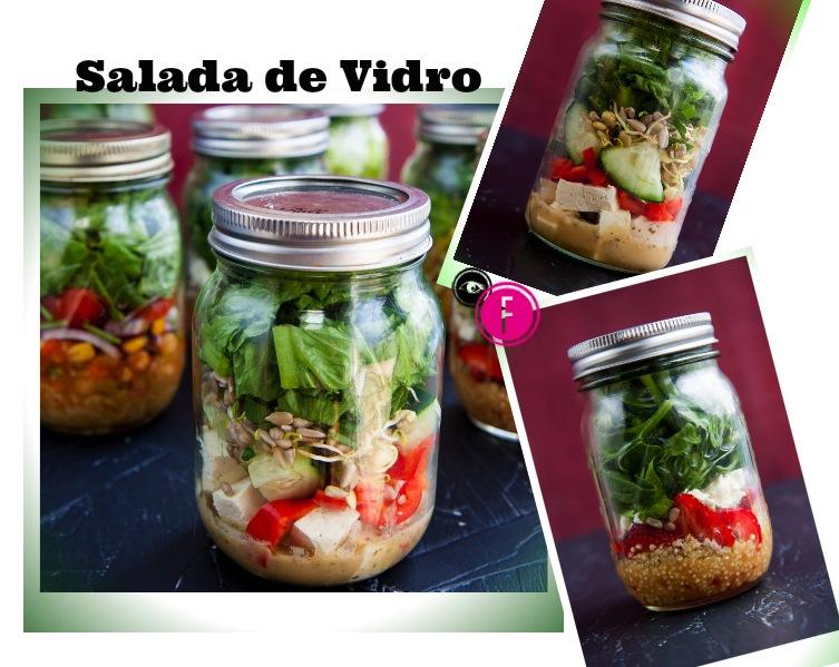 salada de vidro