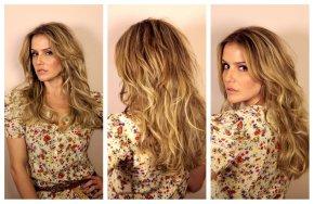 O novo cabelo da DeborahSecco